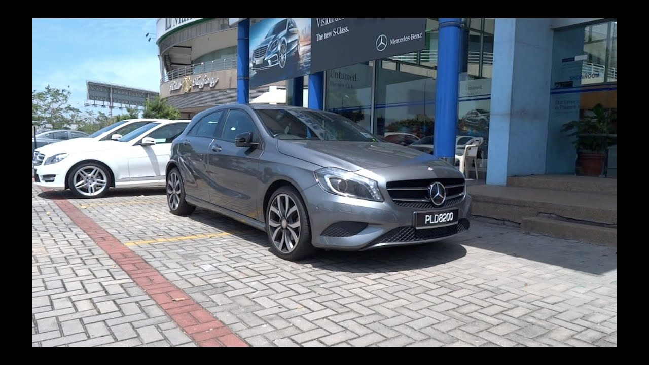 2013 mercedes benz a 200 start up and full vehicle tour youtube. Black Bedroom Furniture Sets. Home Design Ideas