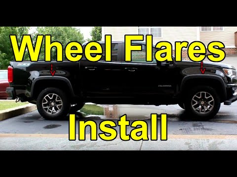[HOW TO] Install Wheel Flares On A 2015-2020 Chevy Colorado (OEM) - NOT ZR2