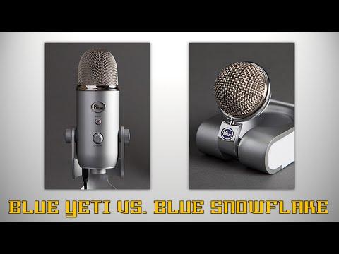 BLUE YETI VS. BLUE SNOWFLAKE COMPARISON! - Pros & Cons, Sound Quality Test