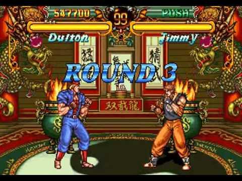Double Dragon (Neo Geo/Arcade) - Dulton - Completo