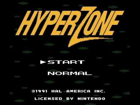 SNES Longplay [339] HyperZone (3D)