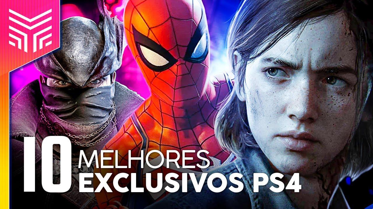 FIM DE GERAÇÃO: OS 10 MELHORES JOGOS EXCLUSIVOS DO PS4 | Rankeado