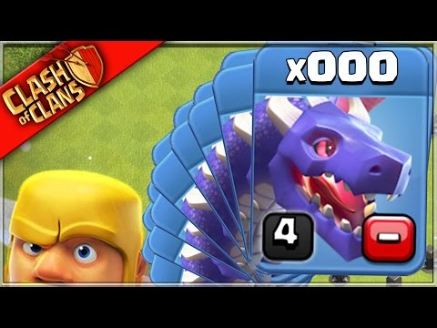 DONT USE DRAGONS in Clash of Clans? (Drags R 4 Noobs)