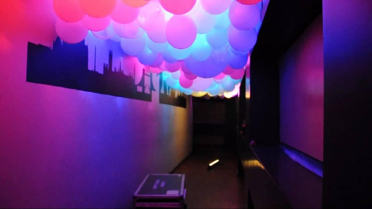 ballon himmel mit led beleuchtung nacht der engel im golden cut youtube. Black Bedroom Furniture Sets. Home Design Ideas
