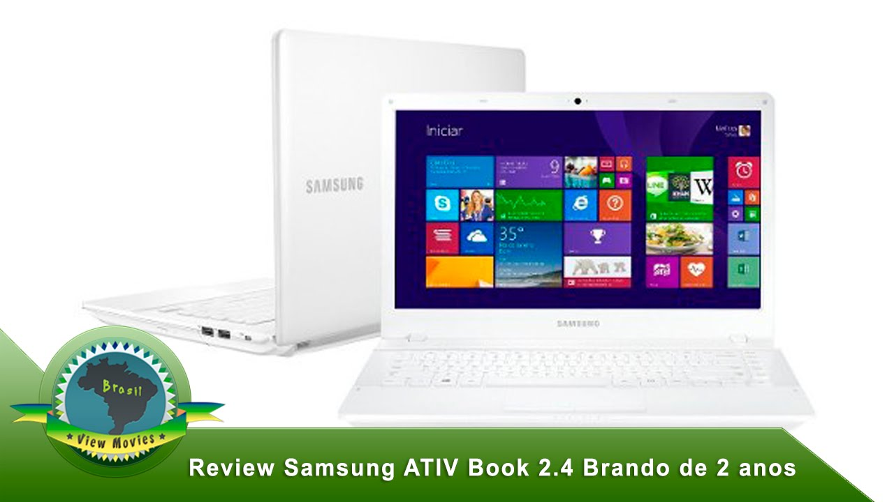 Review de 2 anos do samsung ativ book 2 4 14 core i3 branco