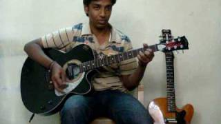 Sholay title theme guitar cover