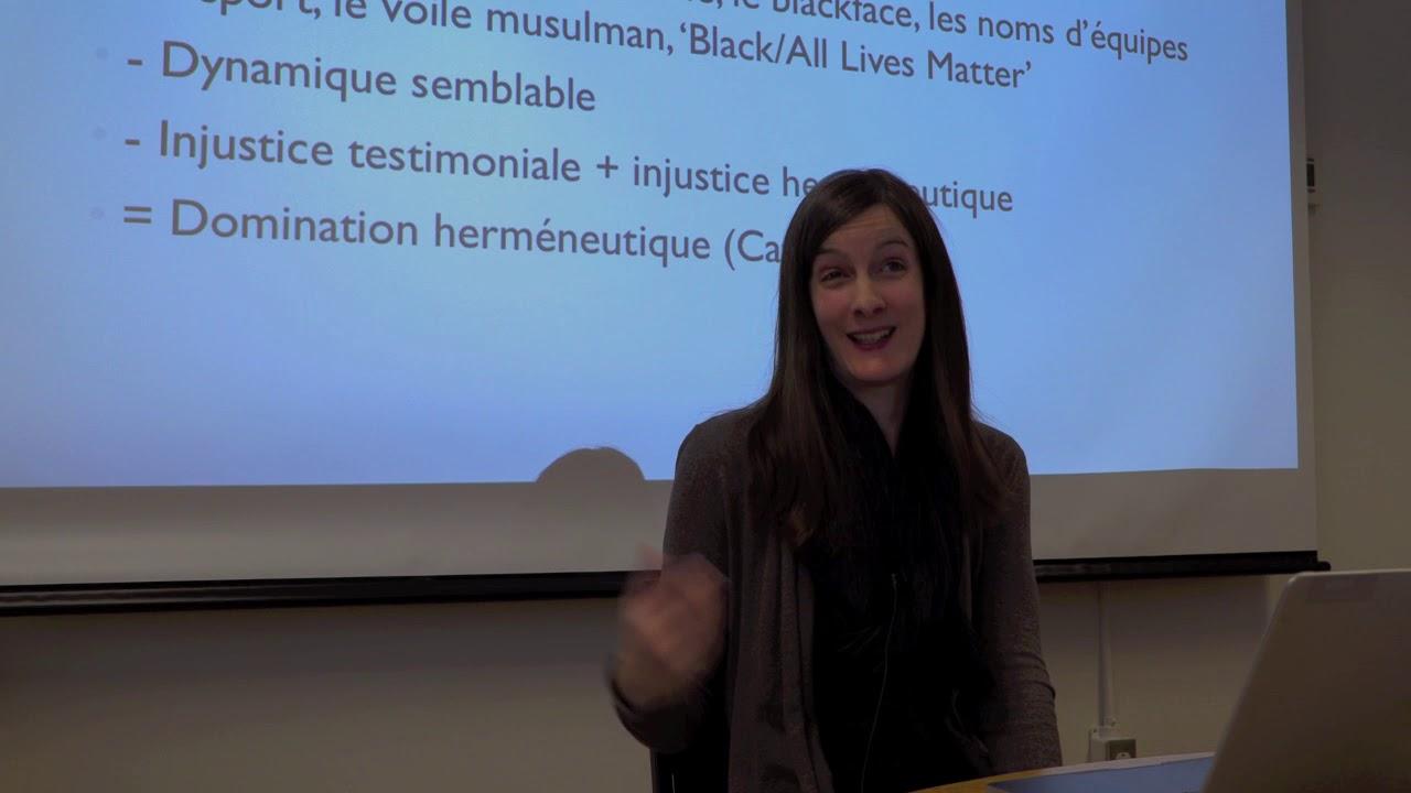 Amandine Catala - CELAT - « Injustice épistémique et agentivité politique.  » - YouTube