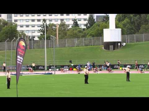 200M U20W Emily Lawson 24.05 Australian Junior Championships 2014.      094