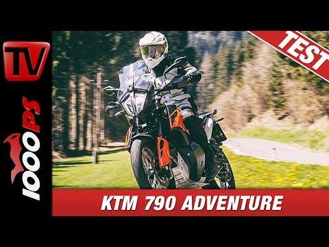 KTM 790 Adventure im Vergleich Mit Africa Twin und Co -  Reiseenduro Vergleichstest 2019