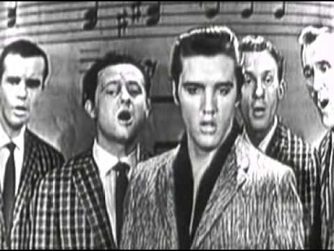 1957 Elvis Presley   Peace in the valley Sullivan mpeg1video