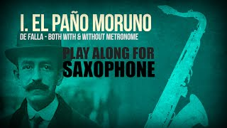 UN PAÑO MORUNO (by Manuel de Falla) – For solo SAXOPHONE (full version in the description 👇)