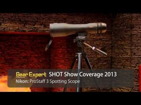 Nikon ProStaff 3 Spotting Scope at SHOT Show 2013 Video
