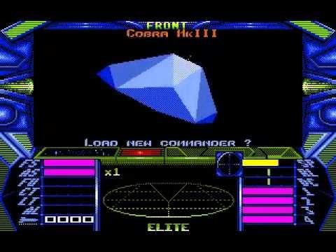 Elite on the Atari ST