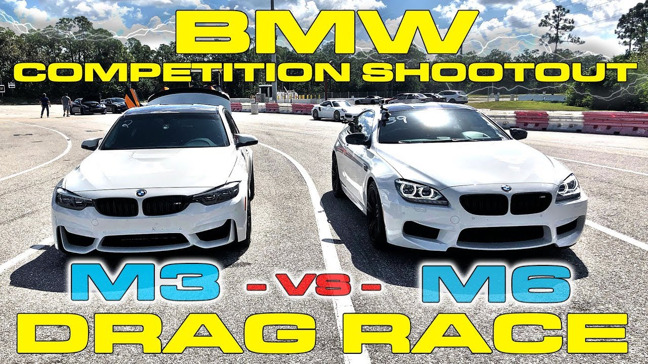 Bmw M6 Launch Control 2018 M3 Vs 2017 Dinan 1 4 Mile Drag Racing
