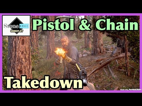 Far Cry 5 - How To Perform Pistol Takedown & Chain Takedown