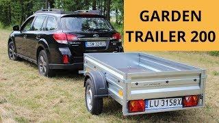 Przyczepka samochodowa - Garden Trailer 200 - Unitrailer