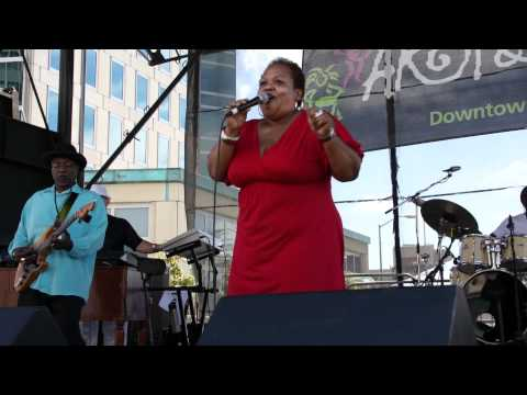 Rhonda Benin sings Trapped  This Thing Called Love at Oakland Art & Soul 2011