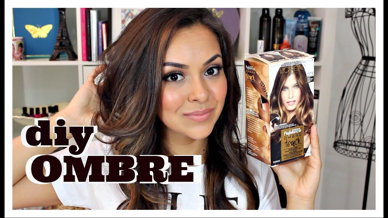 diy ombre hair using l 39 oreal ombre touch kit review trinaduhra youtube. Black Bedroom Furniture Sets. Home Design Ideas