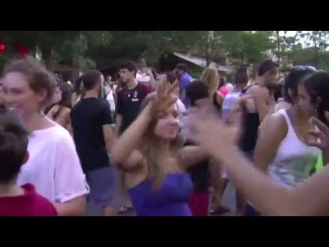 Israeli party at Karmiel (Israel parties raves women dancing Кармиэль nightlife girls dancing)