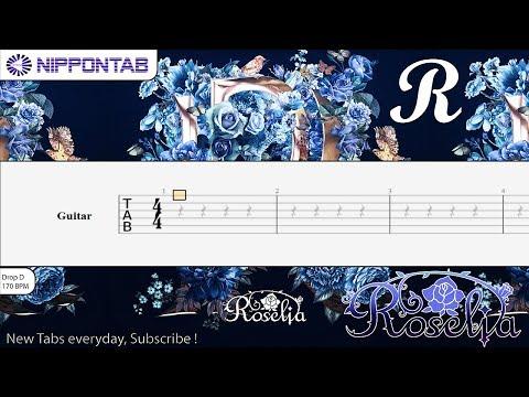 【Guitar TAB】〚Roselia〛R - Bang Dream! / バンドリ! ギター Tab譜