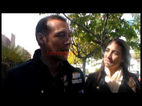 Omar Gutiérrez acompañó a la familia Sapag, tras la muerte de Chela