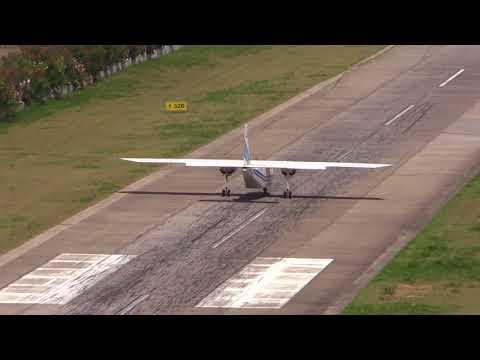 Britten-Norman BN-2 Islander take off from St Barts
