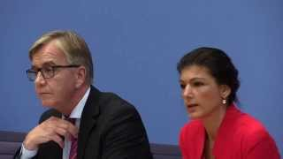 Sahra Wagenknecht, Dietmar Bartsch: Mit Elan und Zuversicht