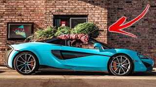 Going through Drive-Thru's with a Tree on my McLaren!