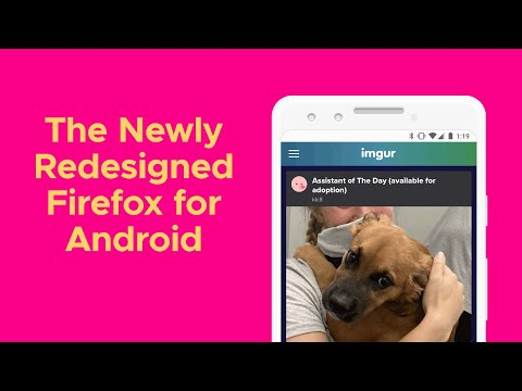 The Newly Redesigned Firefox for Android