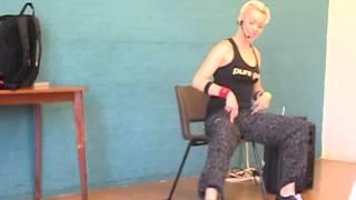 Zumba Gold Chair Class Part 1  Warm Up
