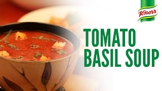 Italian Tomato Basil Soup recipe by Knorr