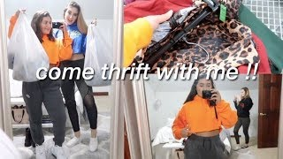 come thrift with me