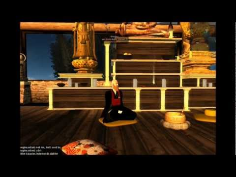 Eshu Martin at Kannonji Zen Retreat in Second Life®