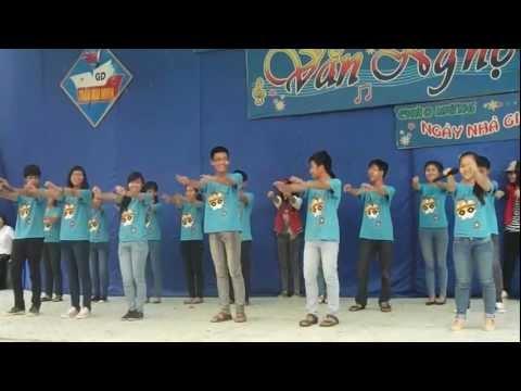 Sát cánh bên nhau + Chicken dance + Gangman style by 9F-THCS Trần Mai Ninh
