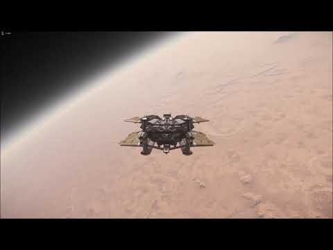 Star Citizen Alpha - Daymar In 3.8 With Planet Tech V4