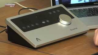 Mitch takes a look at the Apogee Quartet, a compact desktop interfa...