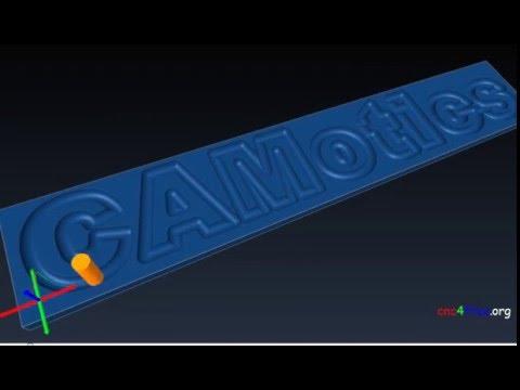 CAMotics - OPEN-SOURCE, CROSS- PLATFORM, FREE GCode Simulation