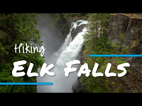 Elk Falls Hike, near Campbell River, B.C.