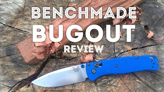 The Benchmade Bugout EDC Pocket Knife Review