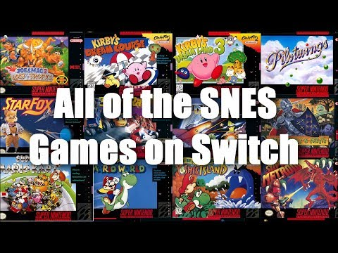 SNES On Switch Tour - Every Super Nintendo Game On Nintendo Switch Online