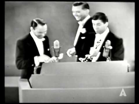 Frank Sinatra presents Two Music Score Oscars®