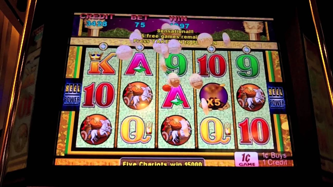 sugarhouse casino slot machines