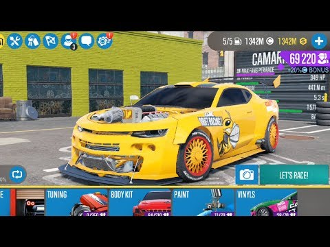 The Best Car (CAMARIC) CarX Drift Racing 2 Mod Apk #11 Android Video Game