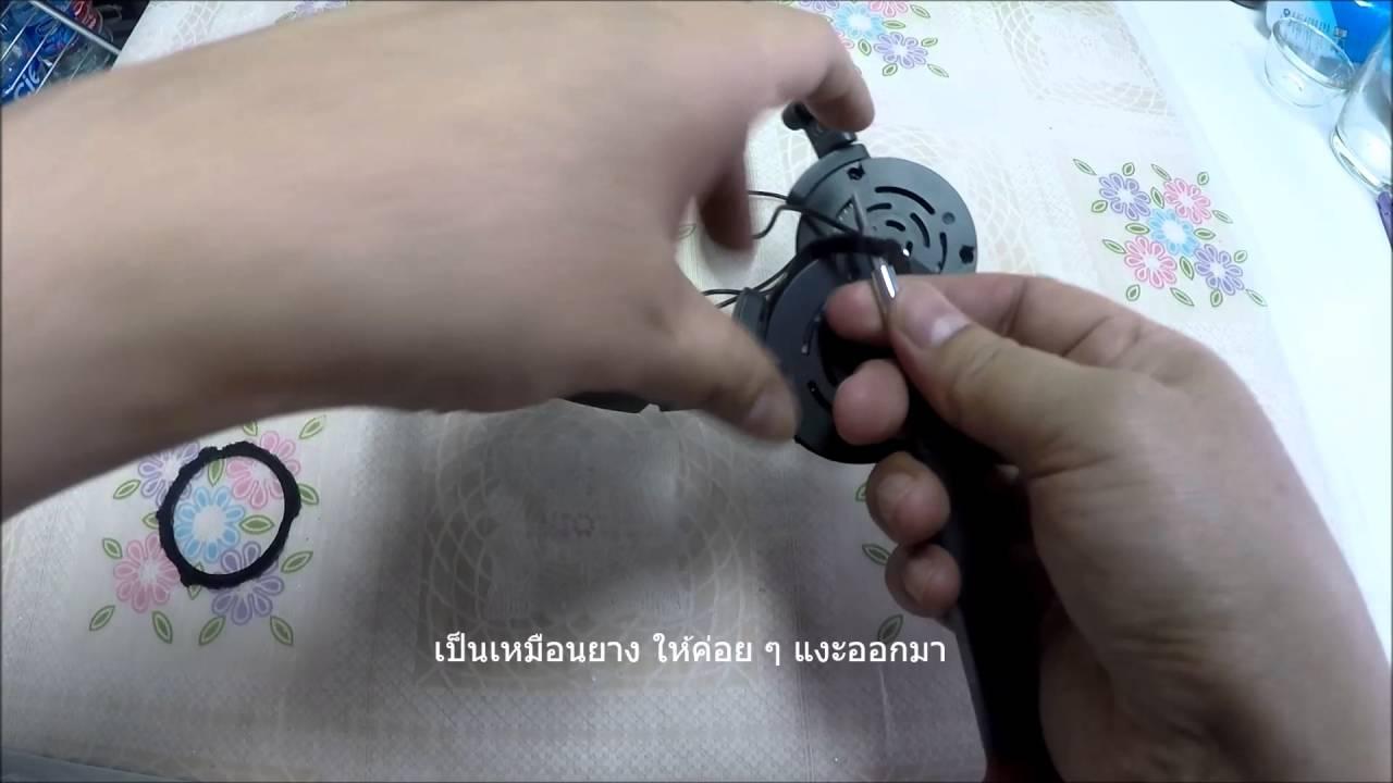 How to วิธีเปลี่ยนฟองน้ำหูฟังด้วยตัวเอง ยี่ห้อ AKG รุ่น K420