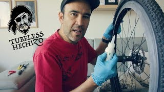Tubeless Hechizo ¿Cómo convertir a Tubeless ruedas normales?