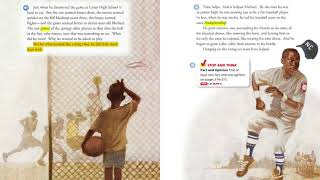 Jump! from the life of Michael Jordan by Floyd Cooper Lesson 11 accelerated reader read aloud