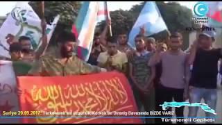 Suriye Türkmenleri Kerkük Eylemi