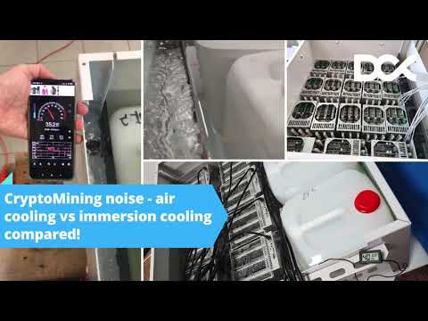 Air Cooling Vs Immersion Cooling Noise! Must See!