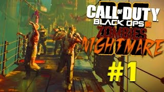 "Black Ops 3 | Decouverte campagne Zombie FR #1 (Black Ops 3 ""NIGHTMARES"" )"
