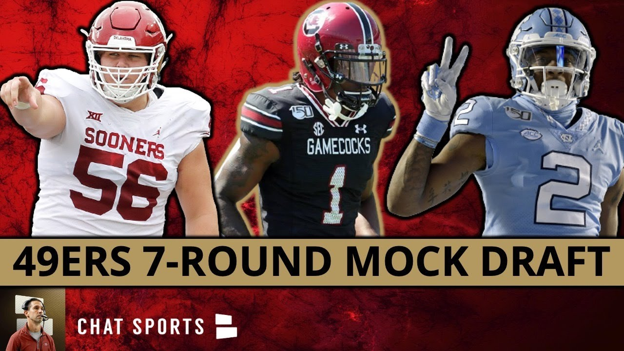 Download NFL Mock Draft: San Francisco 49ers 7-Round Edition For The 2021 NFL Draft
